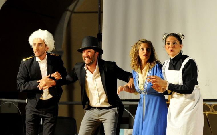 Compagnia Fiori di Carta Giuseppe Montaperto,Massimiliano La Grua,Clelia Cucco,Gabriella Di Napoli