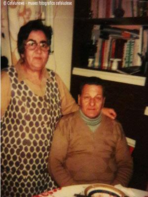 Una delle ultime immagini di Giuseppe Glorioso con la moglie Maria