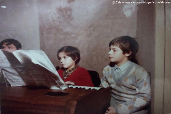 1980: Maria Elisa con il fratello Francesco