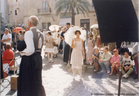 "1994 Cefalù -Maria Elisa nel film ""Mario ed il mago "" diretto da Klaus Maria Brandauer"