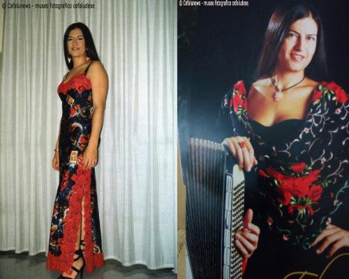 Maria Elisa in due belle foto ricordo