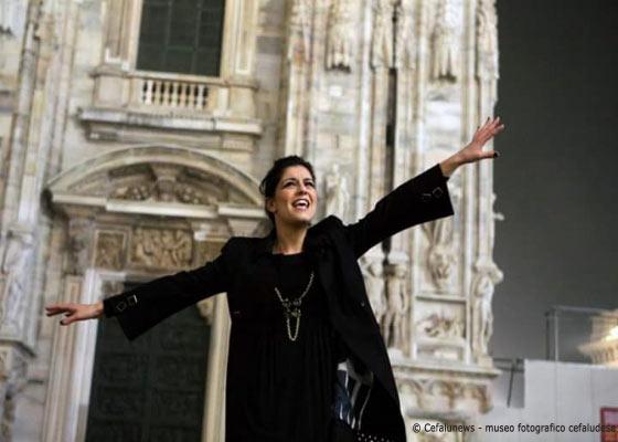 Milano durante la registrazione del suo ultimo disco