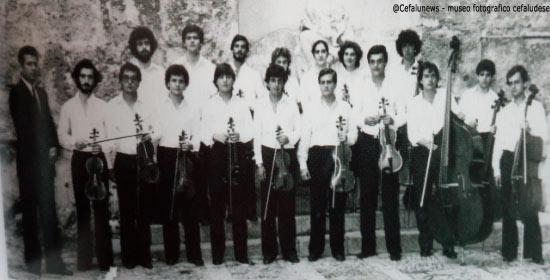 1982 Salvo Cicero ed i giovani Cameristi Siciliani