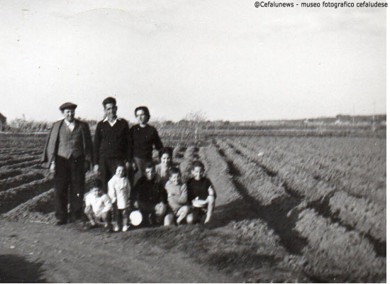 Peppe Forte - la moglie Nunzia con i loro figli e nipoti