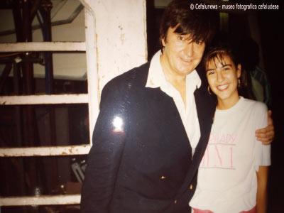 Maria Elisa con il cantante Bobby Solo