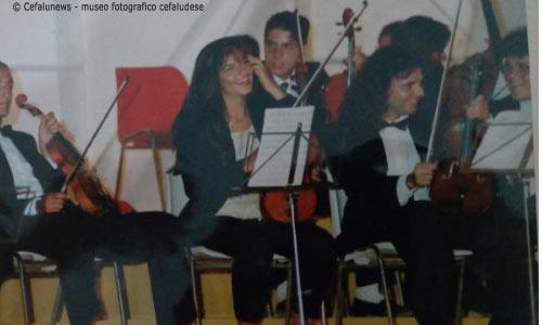 Maria Elisa con l'orchestra