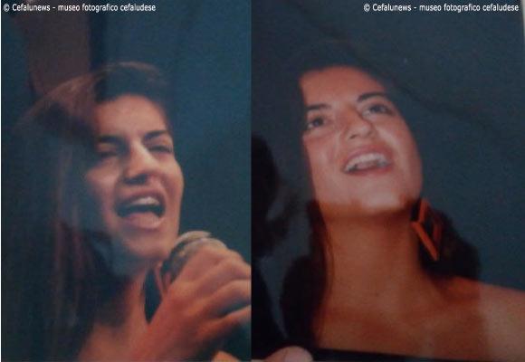 Maria Elisa nelle vesti di cantante