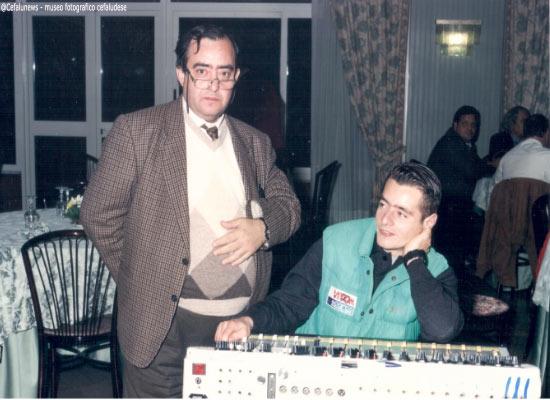 Adriano Cammarata con il figlio Federico