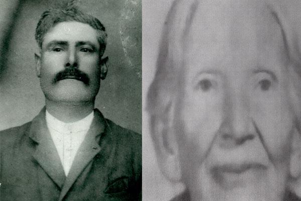 Salvatore Aquia e Rosa Tumminello papà e mamma di Santo