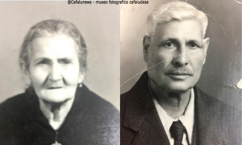Pietro Saja e Catanese Maria Rosa , papà e mamma di Marietta