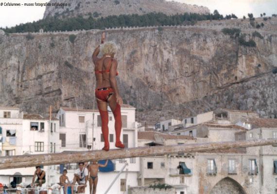 """1978 Giuseppe Perito ntinnaro nelle vesti di """"donna Giuseppina"""""""