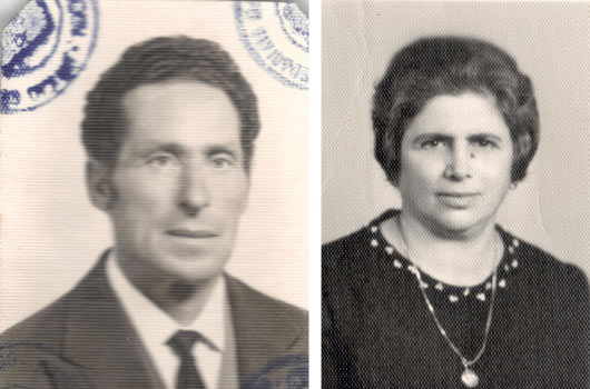 1985 Gianni Cefalù e la moglie Marianna
