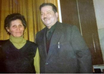 1970 Marietta Saja con il marito Peppe Serio