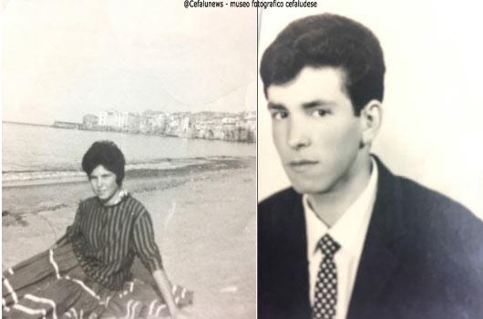 1960 la figlia di Marietta Rosa a dx il figlio Pietro Serio che diventerà un famoso pasticcere