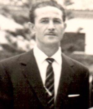 1965 un primo piano di Santo Aquia