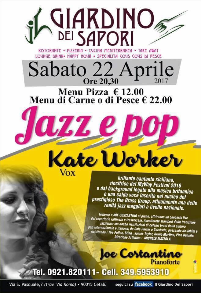 Jazz e pop al giardino dei sapori ecco l 39 evento speciale - Giardino dei sapori calvenzano ...