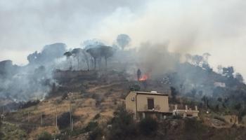 Incendio a Cefalù: ecco un VIDEO dalla zona colpita