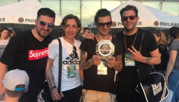 Alla Big Reunion il premio Sicily music awards