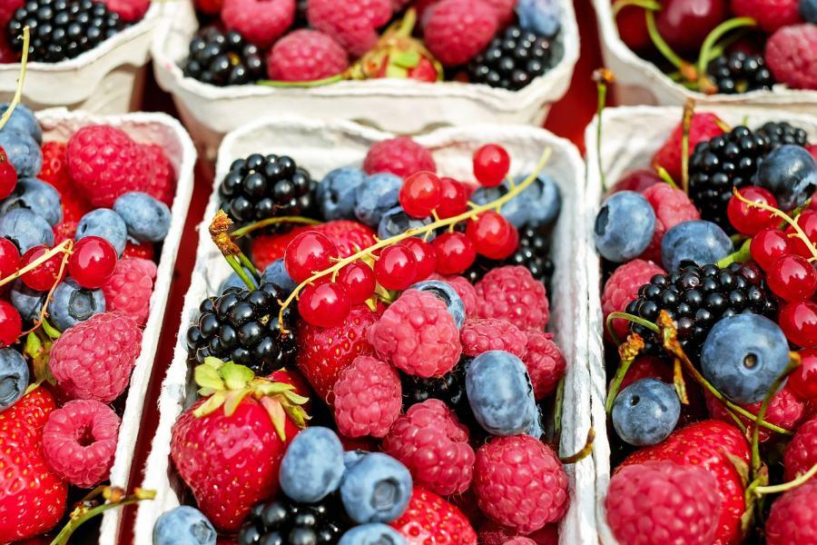 Rischio epatite A nei frutti di bosco surgelati, marchio e lotto