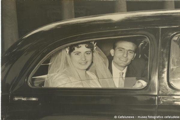 1956 Giovanni Agnello Laura Frezza sposi