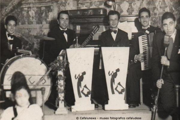 Angelo Battaglia con la fisarmonica suonava anche con il M° Vincenzo Curreri