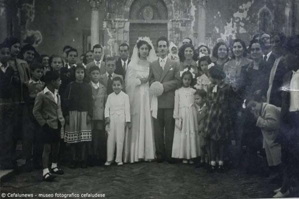 28 Ottobre 1950 Angelo Battaglia sposa nella Cattedrale di Cefalù la sua amata Cristina Papa